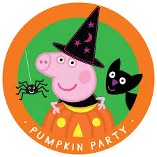 happy halloween pumpkin clipart happy halloween from peppa peppa pig