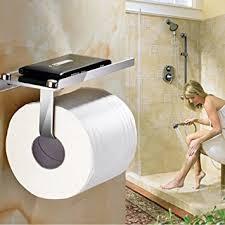 Amazoncom Toilet Paper HolderBathroom Tissue Roll HangerWall - Paper towel dispenser for home bathroom