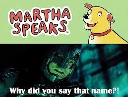 Martha Meme - martha dies