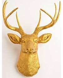 Gold Wall Decor by Amazing Deal On The Franklin Gold Deer Wall Decor Stag