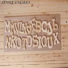 wooden letters home decor 1pcs home decor wooden letter 26 wood english alphabet letters home