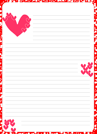 pink valentine hearts coloring picture letterhead coloring pages