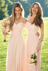 soft pink bridesmaid dresses 2016 light pink chiffon bridesmaid dress convertible style