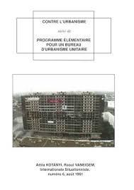 bureau urbanisme calaméo commentaires contre l urbanisme suivi de programme