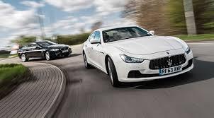 maserati ghibli vs bmw 5 series maserati ghibli diesel vs bmw 530d m sport 2014 review by car