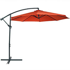 4 Foot Patio Umbrella by Sunnydaze Steel 10 Foot Offset Patio Umbrella With Cantilever