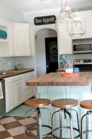 Kitchen With Painted Cabinets Kitchen Paint Kitchen Island With Lily Ann Cabinets And Corian