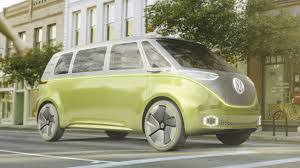 volkswagen concept van power volkswagen i d buzz concept revealed at detroit