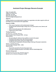Project Manager Job Description For Resume Store Assistant Manager Resume That Can Bag You