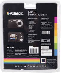 sakar polaroid is126 16 1 mega pixel digital camera black