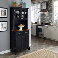 Walmart Desk With Hutch by Home Styles Buffet Of Buffets With Wood Top And Hutch Walmart Com