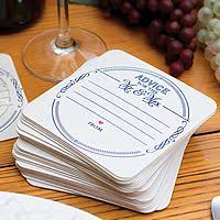 wedding coasters personalized drink coaster table decorations