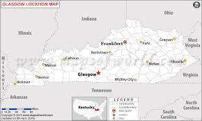 usa map kentucky state where is glasgow located in kentucky usa