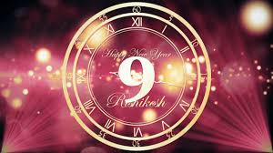 happy new year i countdown i motion graphics i after effects