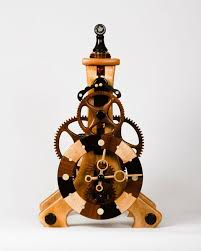 Free Wooden Clock Movement Plans by 86 Best Clocks Images On Pinterest Wooden Gears Wooden Gear