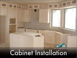 kitchen cabinet installation ri kac construction inc