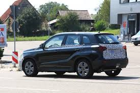 suzuki 2018 suzuki vitara facelift spied has blocked off grille