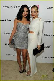 vanessa hudgen leaked photos vanessa hudgens u0026 ashley tisdale elton john viewing party