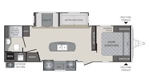 Keystone Floor Plans by 2018 Keystone Premier 26rbpr Model
