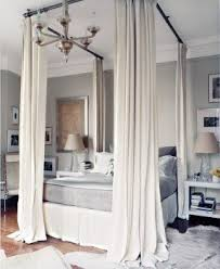Poster Bed Curtains Four Poster Bed Frame Foter