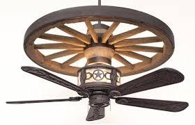 rustic wood ceiling fans sheridan wagon wheel ceiling fan rustic lighting and fans