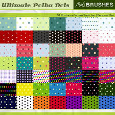 illustrator pattern polka dots free 50 ultimate polka dots illustrator swatches how to in