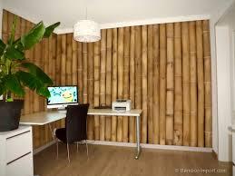 Decorative Bamboo Sticks 12 Bamboo Wall Cladding And Decoration Ideas