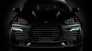 porsche headlights techart shows integrated led lights for porsche cayenne