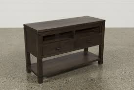 End Table With Charging Station by Livingston Console Table Living Spaces