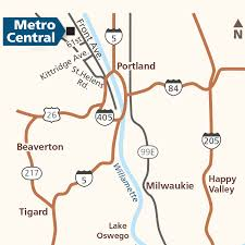 Troutdale Oregon Map by Garbage And Recycling Metro