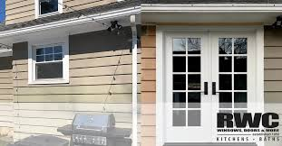 can you use an existing door for a barn door convert existing windows into beautiful new doors rwc