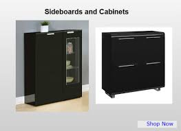 Small Black Gloss Sideboard Dining Room Furniture Dining Sets Chairs And More Homegenies