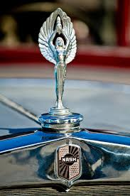 1928 nash coupe ornament 2 photograph by reger