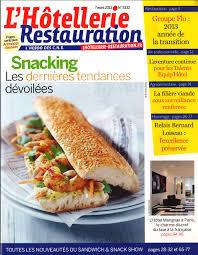magazine de cuisine professionnel presse et édition provenances