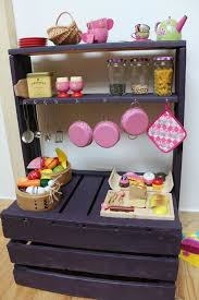 homemade play kitchen ideas 25 fun pallet projects your kids will appreciate playtivities