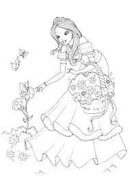 princesse cuisine coloriage princesse davalor fashionzen info