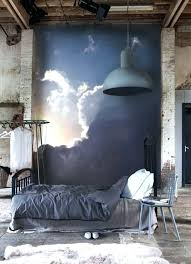 industrial decorating ideas aesthetic bedroom ideas industrial bedroom with wall mural tedl info