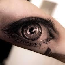34 astonishingly beautiful eyeball tattoos white