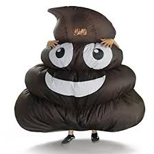 Inflatable Halloween Costumes Adults Amazon Dreamowl Inflatable Giant Emoji Costume