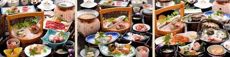 cuisine japonaise traditionnelle ma resort à la japonaise dans la station thermale de wakaura