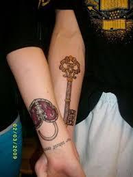 77 fancy key tattoos for wrist