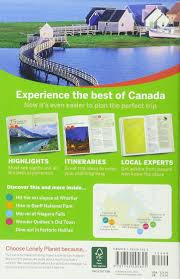 lonely planet discover canada travel guide lonely planet karla