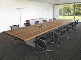 Large Conference Table Contemporary Conference Table Wooden Rectangular Tix