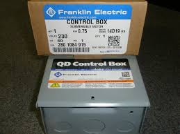 franklin electric submersible pump ebay