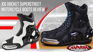 street motorcycle boots joe rocket superstreet motorcycle boots review youtube