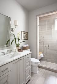 best 10 grey bathroom cabinets ideas on pinterest grey bathroom small bathroom reno ideas ryan street associates using costco tile on floor and wall accent tile on shower floor