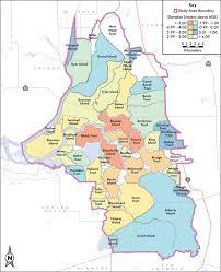 Map Of Sacramento Map Of Average Island Elevations Throughout The Sacramento U2013san