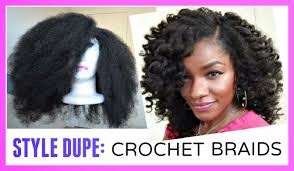 hair for crochet weave braided innovations marley hair crochet wig in 30mins