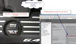 srt 8 charger 2012 oil change dilemma dodge charger forums