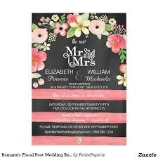 Post Wedding Reception Invitation Wording 78 Best Chalkboard Post Wedding Party Invites Images On Pinterest